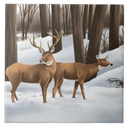whitetail deer tiles