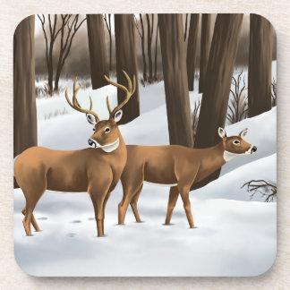 Whitetail Deer Coasters