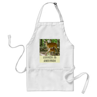 Whitetail Deer - Doe and Fawn Apron