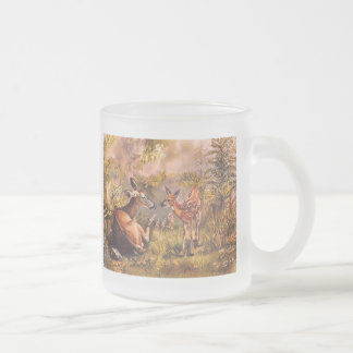 Whitetail Deer Doe and Fawn Mug
