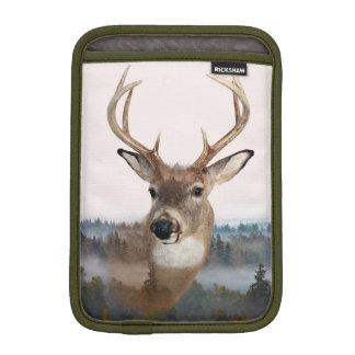 Whitetail Deer Double Exposure iPad Mini Case