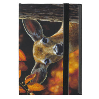 Whitetail Deer Face iPad Mini Cover