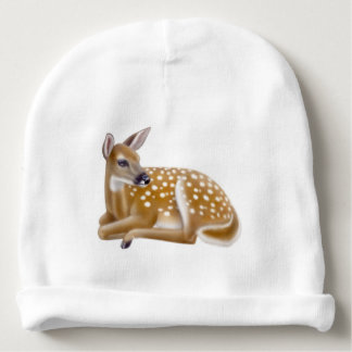 Whitetail Deer Fawn Baby Hat