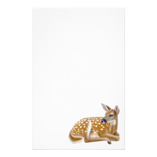 Whitetail Deer Fawn Stationery