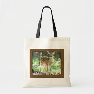 Whitetail Deer Fawn Tote Bag