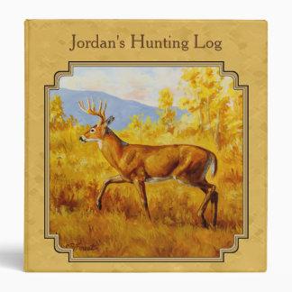 Whitetail Deer Golden Aspen Woods Binder