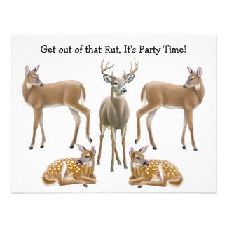 Whitetail Deer Invitation