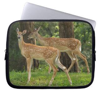 Whitetail Deer Laptop Computer Sleeve