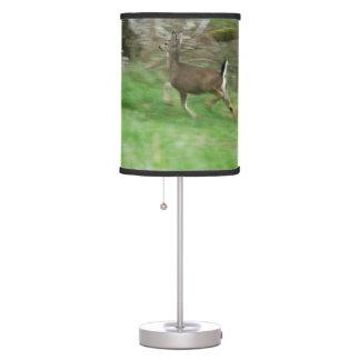 Whitetail Deer Leaping Lamp
