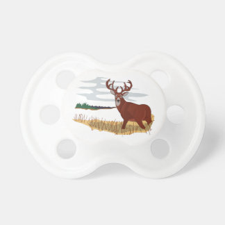 Whitetail Deer Scene Pacifier