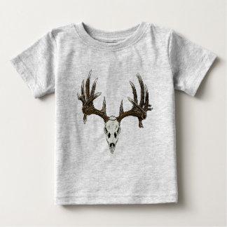 Whitetail deer skull 1 baby T-Shirt