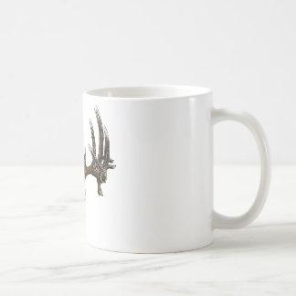 Whitetail deer skull 1 classic white coffee mug