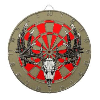 Whitetail deer skull vintage dart boards
