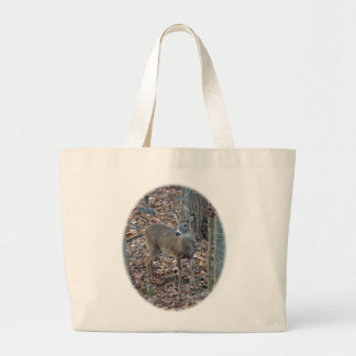 Whitetail Deer Spike Buck Series Canvas Bags