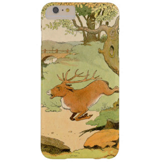 Whitetail Deer Stag Bolting in the Forest Barely There iPhone 6 Plus Case