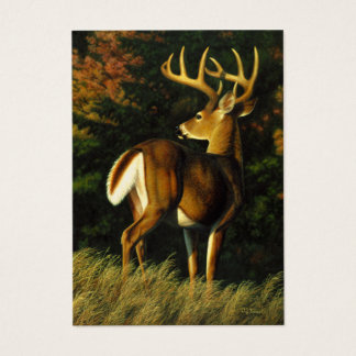 Whitetail Deer Trophy Buck Hunting Business Card