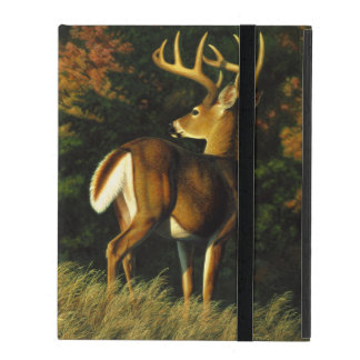 Whitetail Deer Trophy Buck Hunting iPad Folio Case