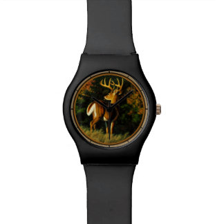 Whitetail Deer Trophy Buck Hunting Watches