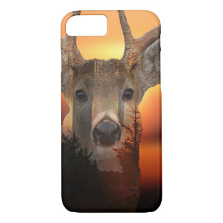 Whitetail Sunset iPhone 7 Case