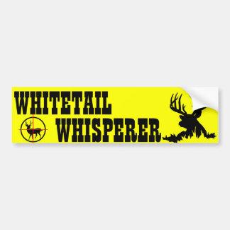WHITETAIL WHISPERER BUMPER STICKER
