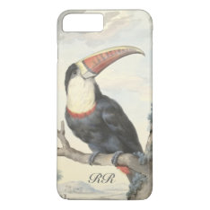 Whitethroated American Toucan Vintage Iphone 8 Plus/7 Plus Case at Zazzle