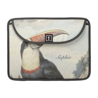 Whitethroated American Toucan Vintage Sleeve For MacBook Pro