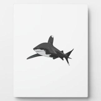 WHITETIP SHARK PHOTO PLAQUES