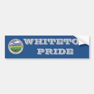 Whitetop Pride Bumper Sticker Car Bumper Sticker