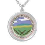 Whitetop Tribal Seal Necklace