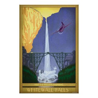 Whitewall baja ejemplo póster