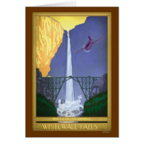 Whitewall Falls Illustration Card