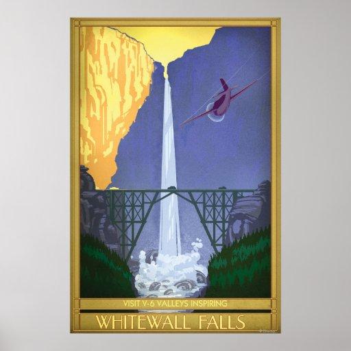 Whitewall Falls Illustration Print