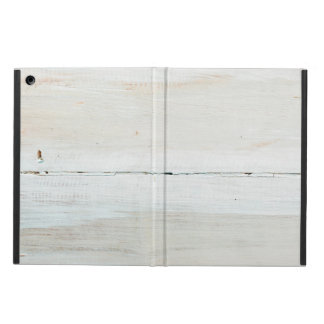 Whitewashed Barn Wood White Woodgrain Cover For iPad Air