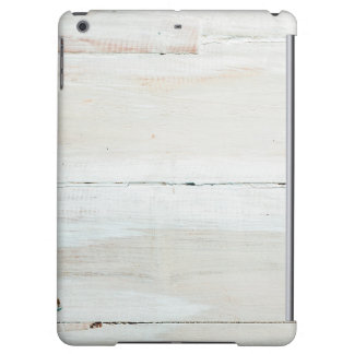 Whitewashed Barn Wood White Woodgrain iPad Air Cover