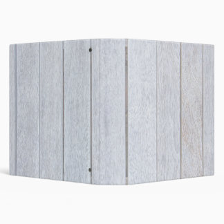 Whitewashed Old Weathered Wood Background Wooden 3 Ring Binder