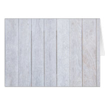 Whitewashed Old Weathered Wood Background Wooden Card