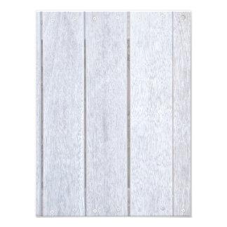 Whitewashed Old Weathered Wood Background Wooden Photo Print