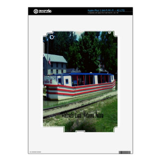Whitewater Canal Boat iPad 3 Skin