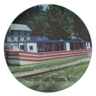 Whitewater Canal Boat Party Plates