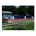 Whitewater Canal Boat Postcard
