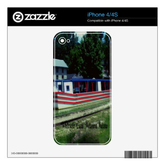 Whitewater Canal Boat Skin For The iPhone 4