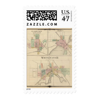 Whitewater, Elkhorn and Geneva Postage
