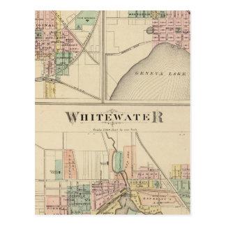 Whitewater, Elkhorn y Ginebra Tarjetas Postales