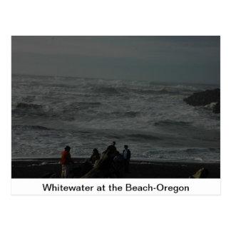 Whitewater en la playa postales