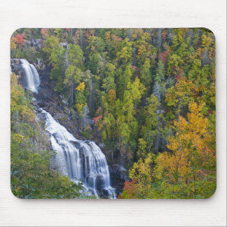 Whitewater Falls in the Nantahala National Mouse Pad