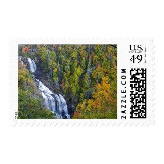 Whitewater Falls in the Nantahala National Postage
