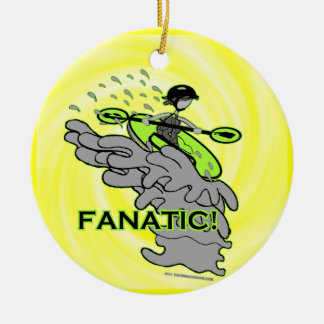 Whitewater Fanatic! Christmas Ornaments