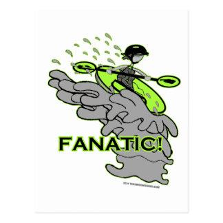 Whitewater Fanatic! Postcard