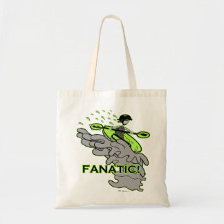 Whitewater Fanatic! Tote Bags