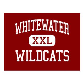 Whitewater - gatos monteses - alto - Fayetteville Postales